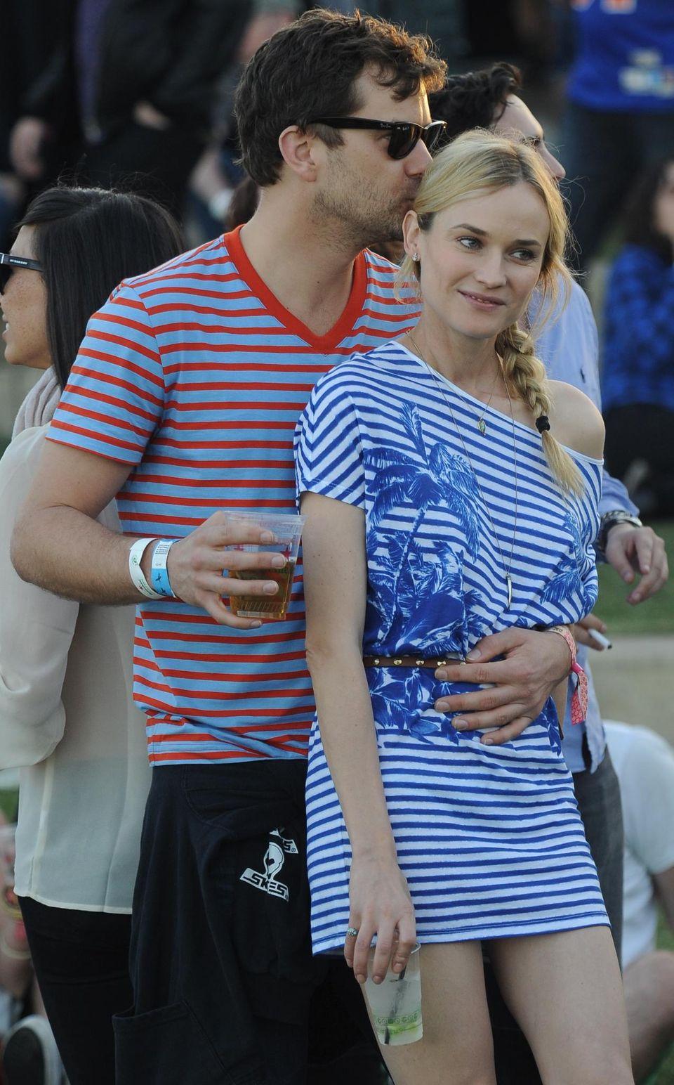 Endlich vereint: Diane Kruger ist bereits seit 2006 mit Schauspieler Joshua Jackson liiert - aber die beiden haben noch nie zusammengewohnt.