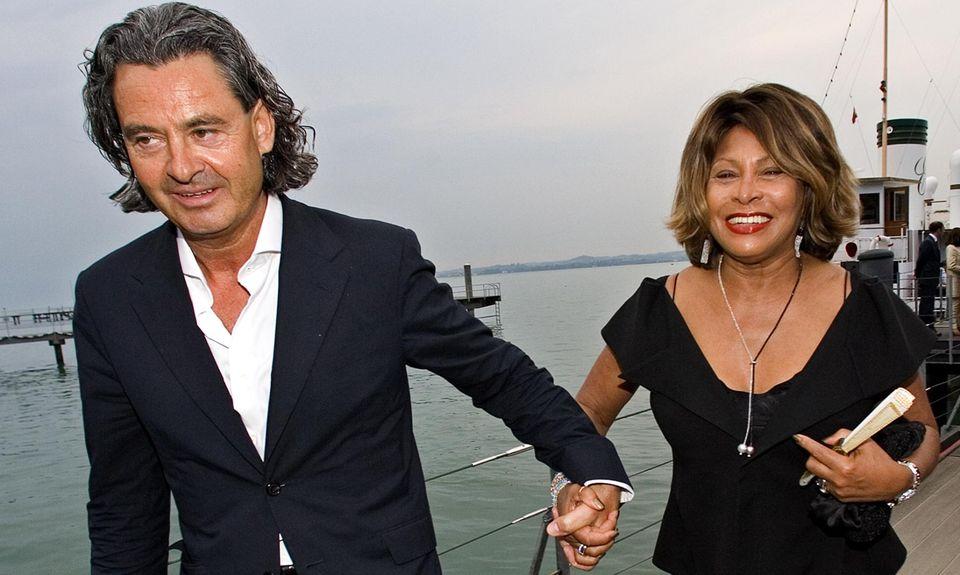 Mit dem Deutschen Erwin Bach ist Tina Turner seit 1986 glücklich. Nun wollen sie heiraten.