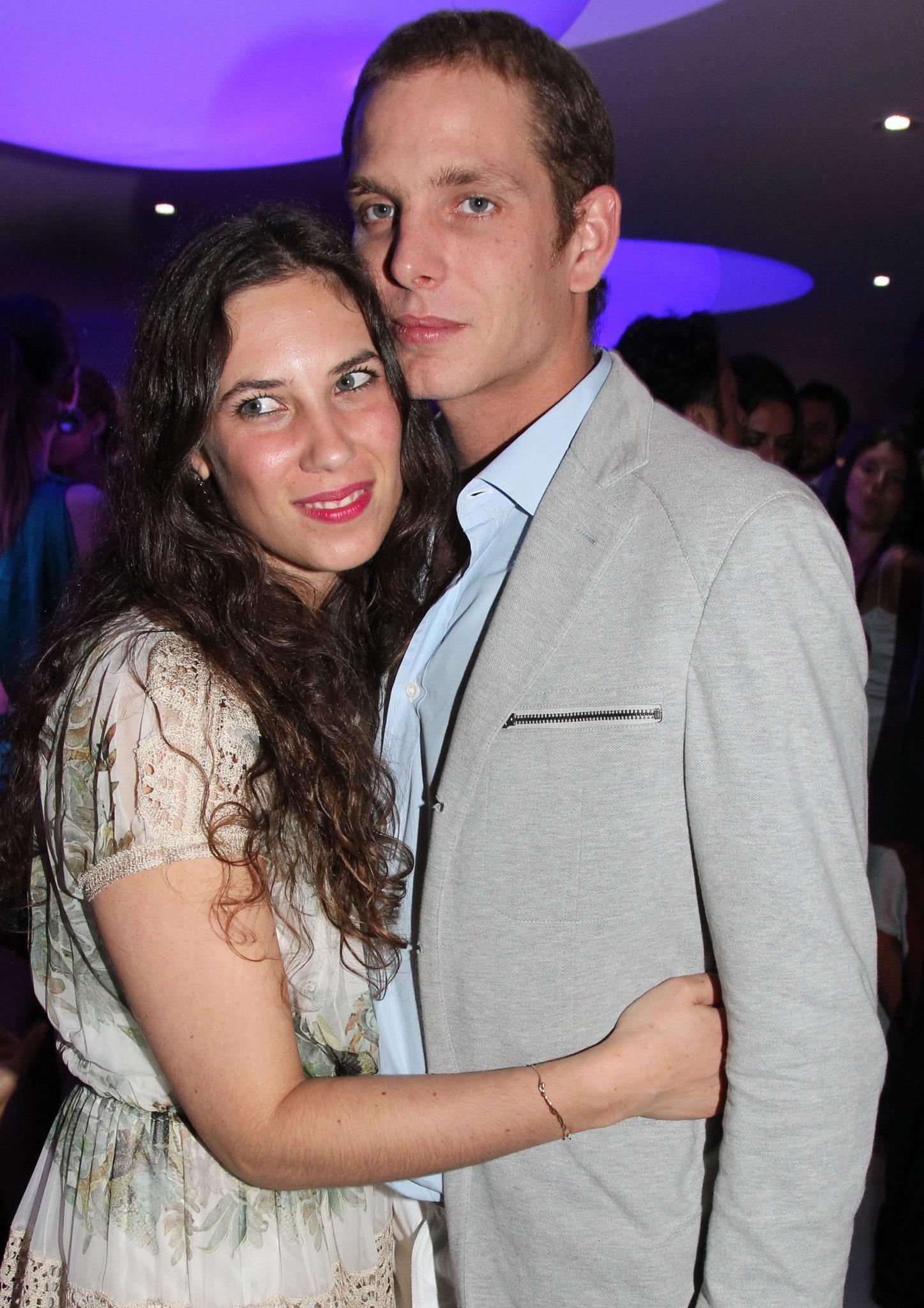 Tatiana Santo Domingo, Andrea Casiraghi