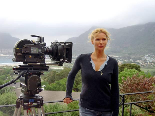 """Veronica Ferres ist inzwischen auch hinter der Kamera aktiv. Mit ihrer eigenen Produktionsfirma """"Construction Film""""."""