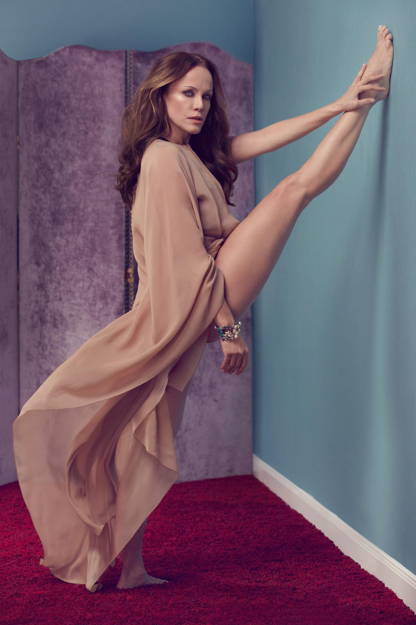 Bewegung ist Sonja Kirchbergers Lebenselixier. Mit zehn tanzte sie an der Wiener Staatsoper, heute biegt sie sich auf der Yogamatte.