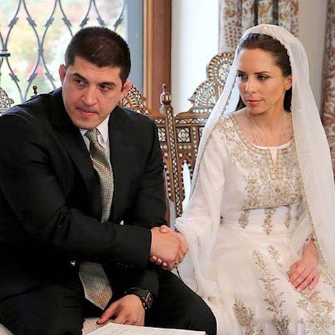 Prinzessin Iman von Jordanien und Zaid Azmi Mirza