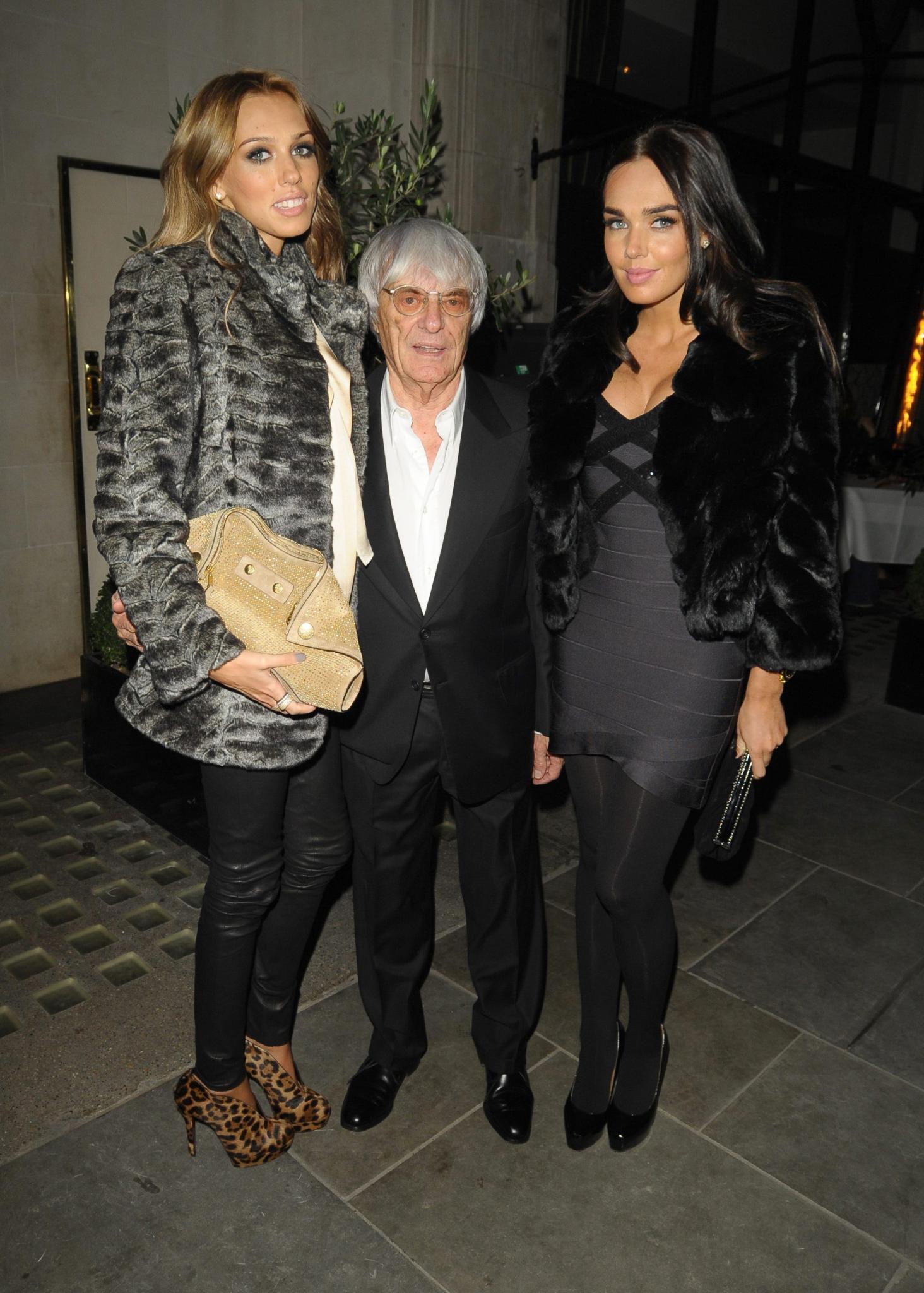 Petra Ecclestone, Tamara Ecclestone, Bernie Ecclestone