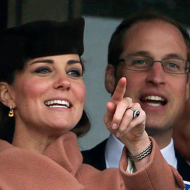 Catherine und William, das Herzogpaar von Cambridge