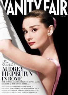 """Cover der Maiausgabe 2013 der US-Zeitschrift """"Vanity Fair"""" zum Todestag von Audrey Hepburn"""