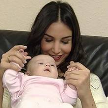 Sila Sahin und Baby Kate