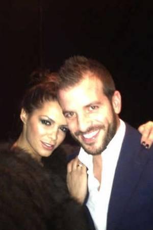 """""""Good times with Rafael"""": ...erlebte Sabia offenbar schon am 7. Dezember, als sie dieses Foto twittert."""