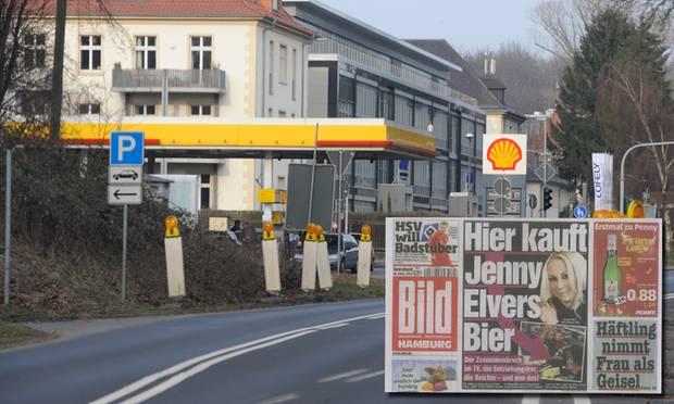 """Nach ihrem Alkoholentzug erscheint Jenny Elvers-Elbertzhagen als leichtes Ziel. Die Fotos, die sie beim Bier-Kauf in einer Kölner Tankstelle zeigen, landeten bei der """"Bild""""-Zeitung."""