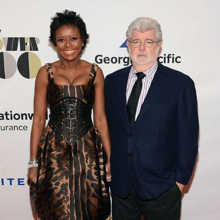 Mellody Hobson und George Lucas