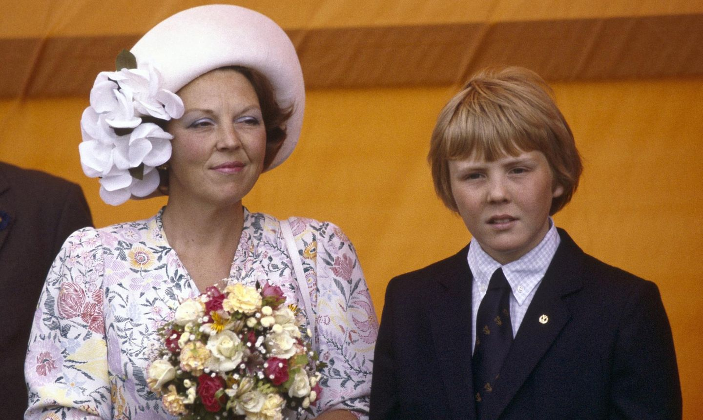 Königin Beatrix und Prinz Willem-Alexander