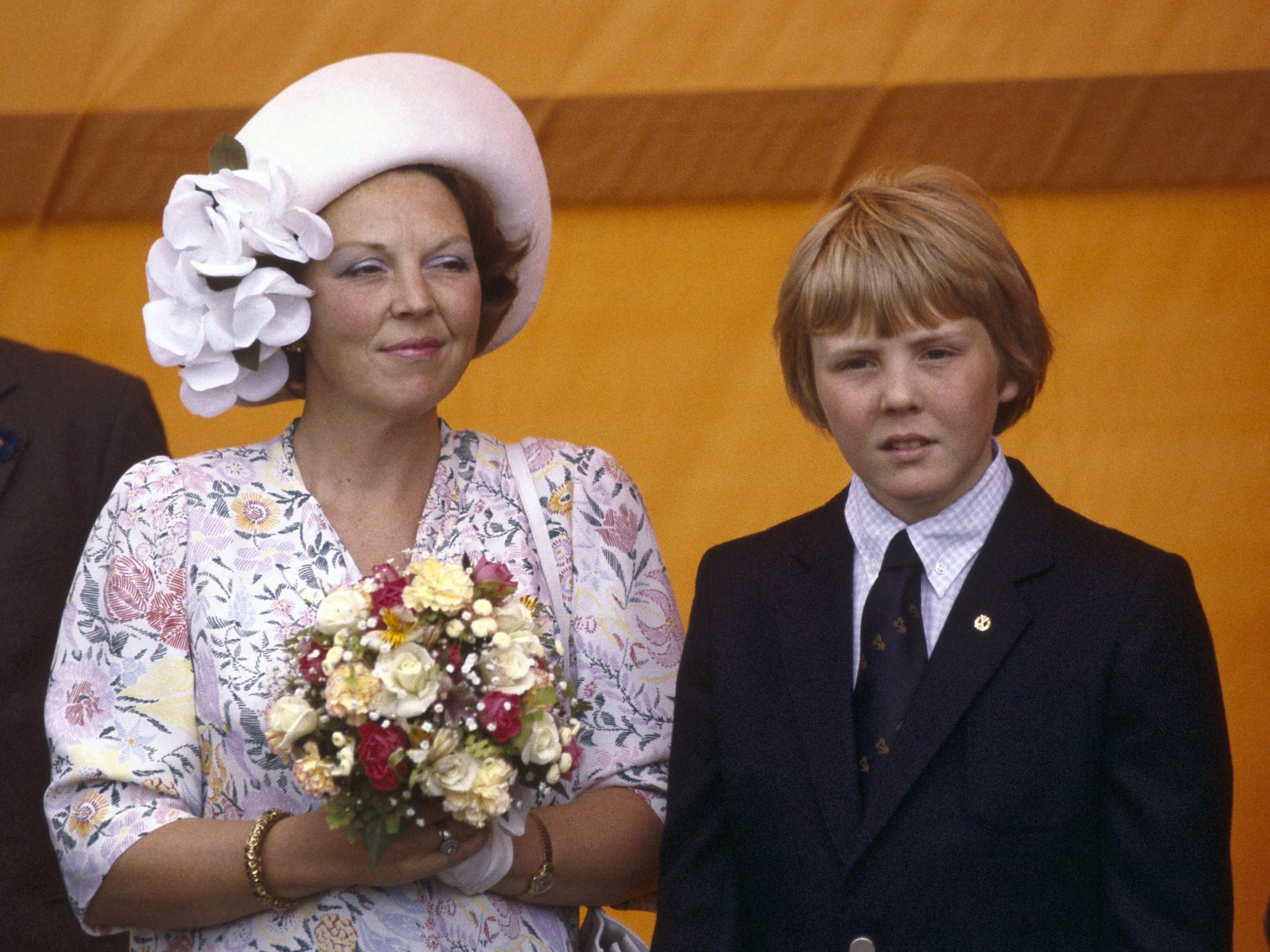 Königin Beatrix und Prinz Willem-Alexander