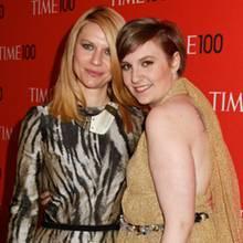 Claire Danes und Lena Dunham