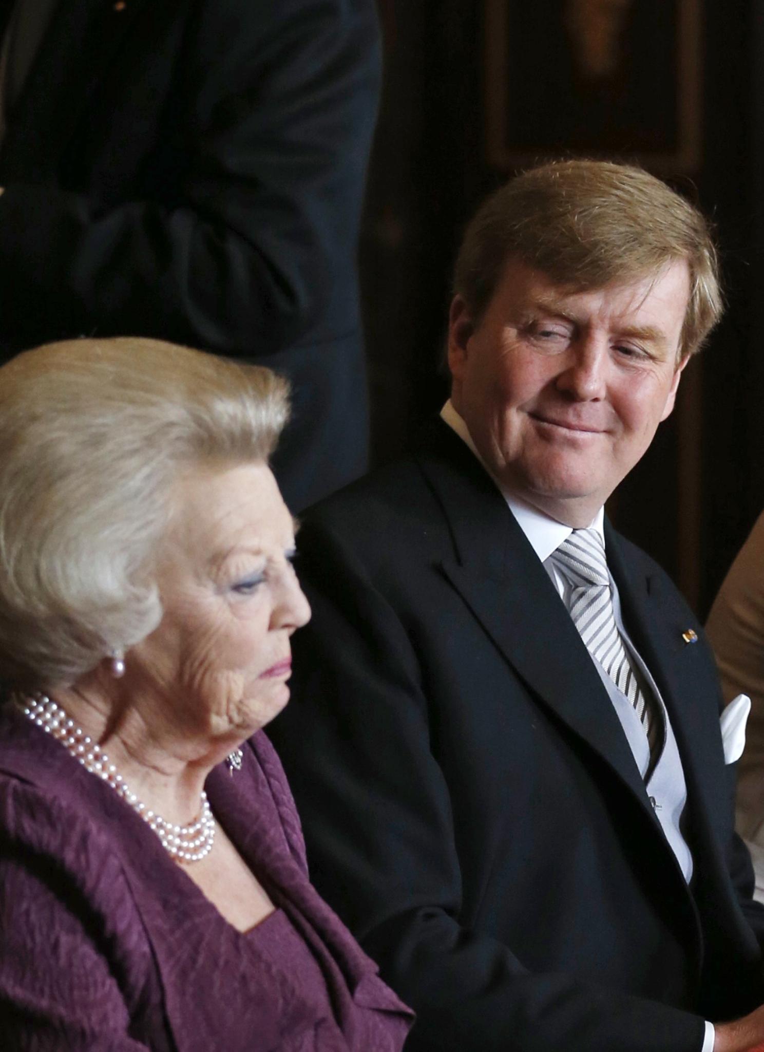 Beatrix und Willem-Alexander