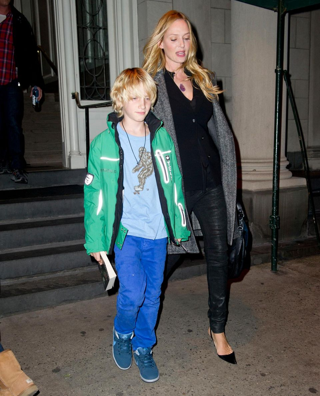 Aus ihrer Ehe mit Ethan Hawke hat Thurman zwei KInder, Sohn Levon, 11, und Tochter Maya, 14.