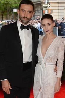 Riccardo Tisci und Rooney Mara