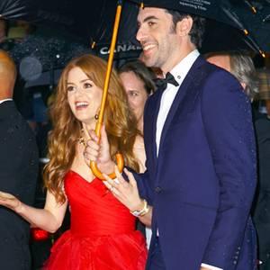 Isla Fisher und Sacha Baron Cohen