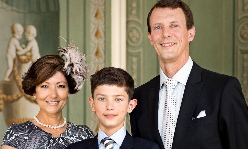Gräfin Alexandra, Prinz Nikolai, Prinz Joachim.