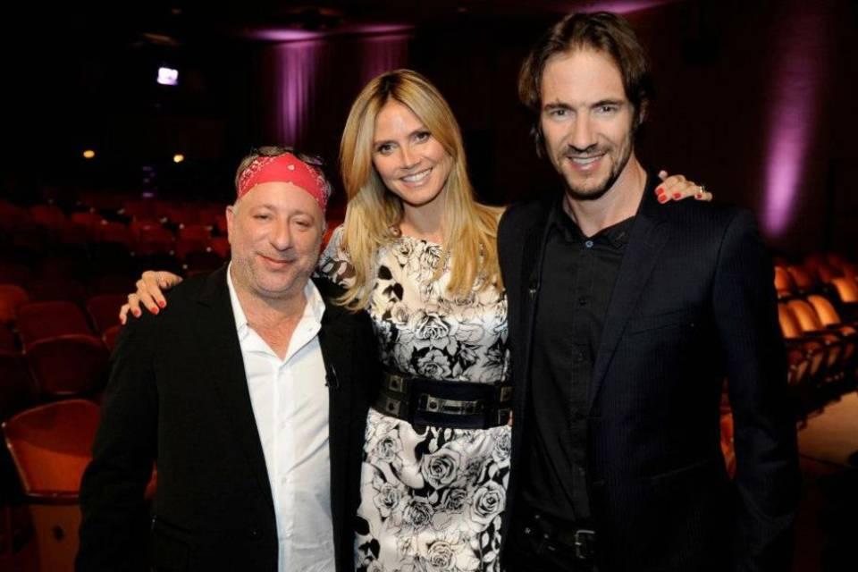 Enrique Badulescu, Heidi Klum und Thomas Hayo (v.l.)
