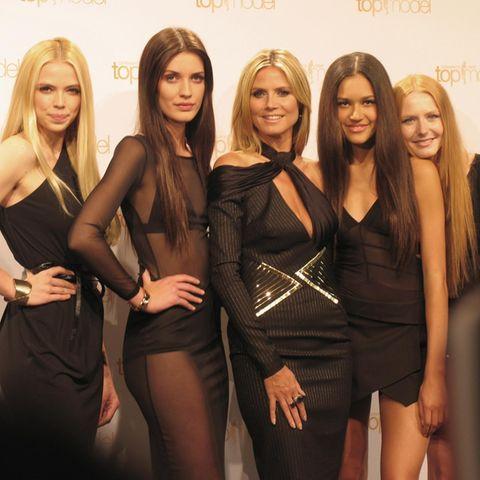 Sabrina, Louise, Heidi Klum, Lovelyn, Maike