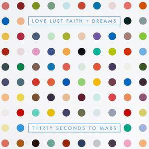 "Space-Rocker: Das neue Album von Jareds Band ""30 Seconds To Mars"" heißt ""Love Lust Faith + Dreams"" - ein lässiger Mix aus Space-Rock und Elektro."