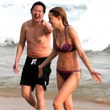 """""""Hangover""""-Darsteller Heather Graham und Ken Jeong"""