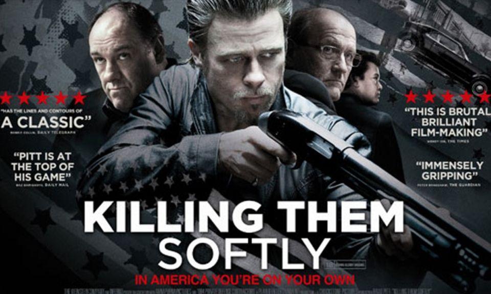 """Filmplakat zu """"Killing Them Softly"""", im Kino September 2012, auf DVD Mai 2013"""