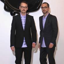 Viktor Horsting und Rolf Snoeren