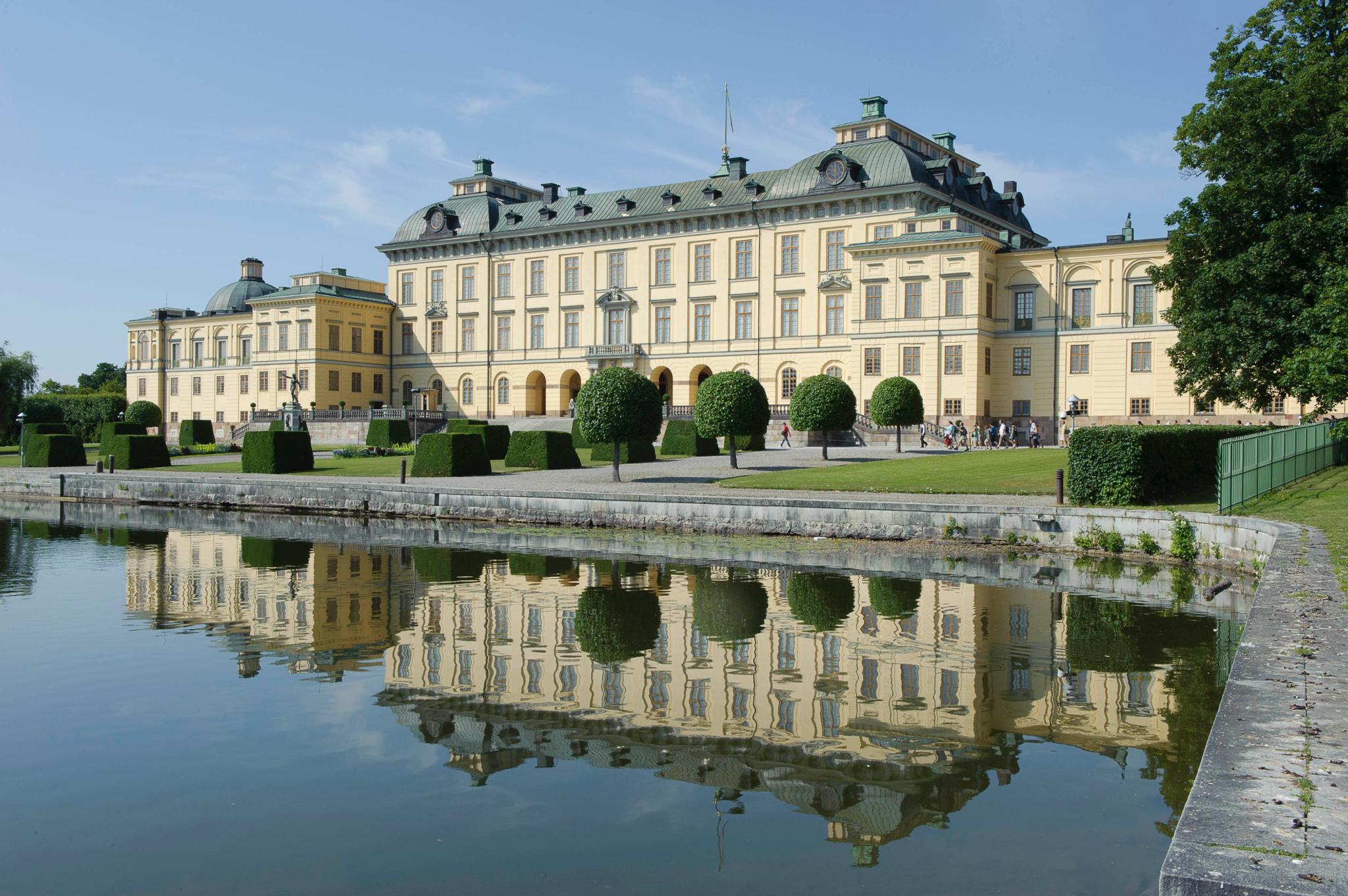 Das Hochzeitsbankett findet auf Schloss Drottningsholm, wo Prinzessin Madeleine auch geboren wurde, statt.