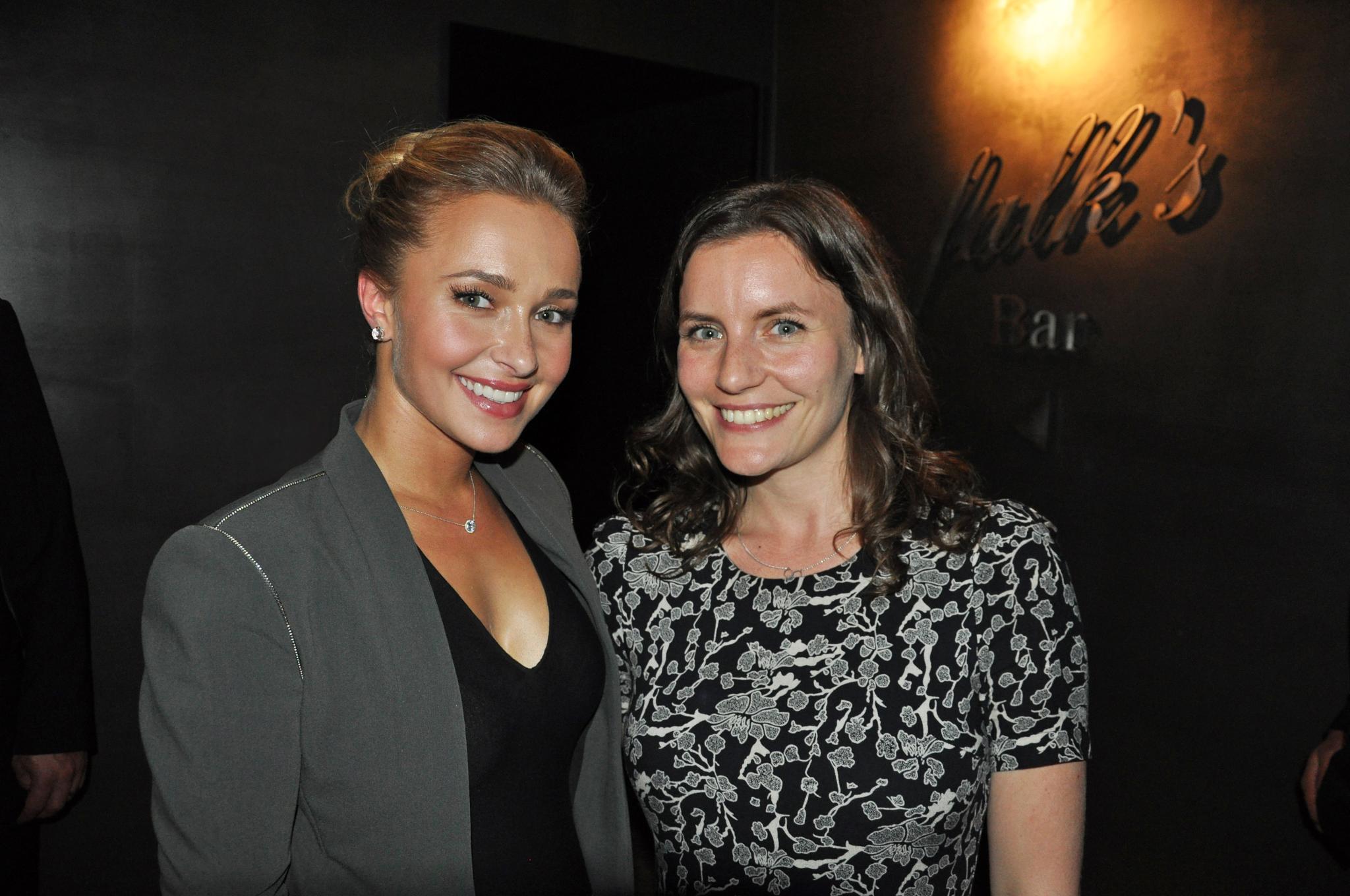 Gala.de-Redakteurin Sarah Stendel traf Hayden Panettiere in München.