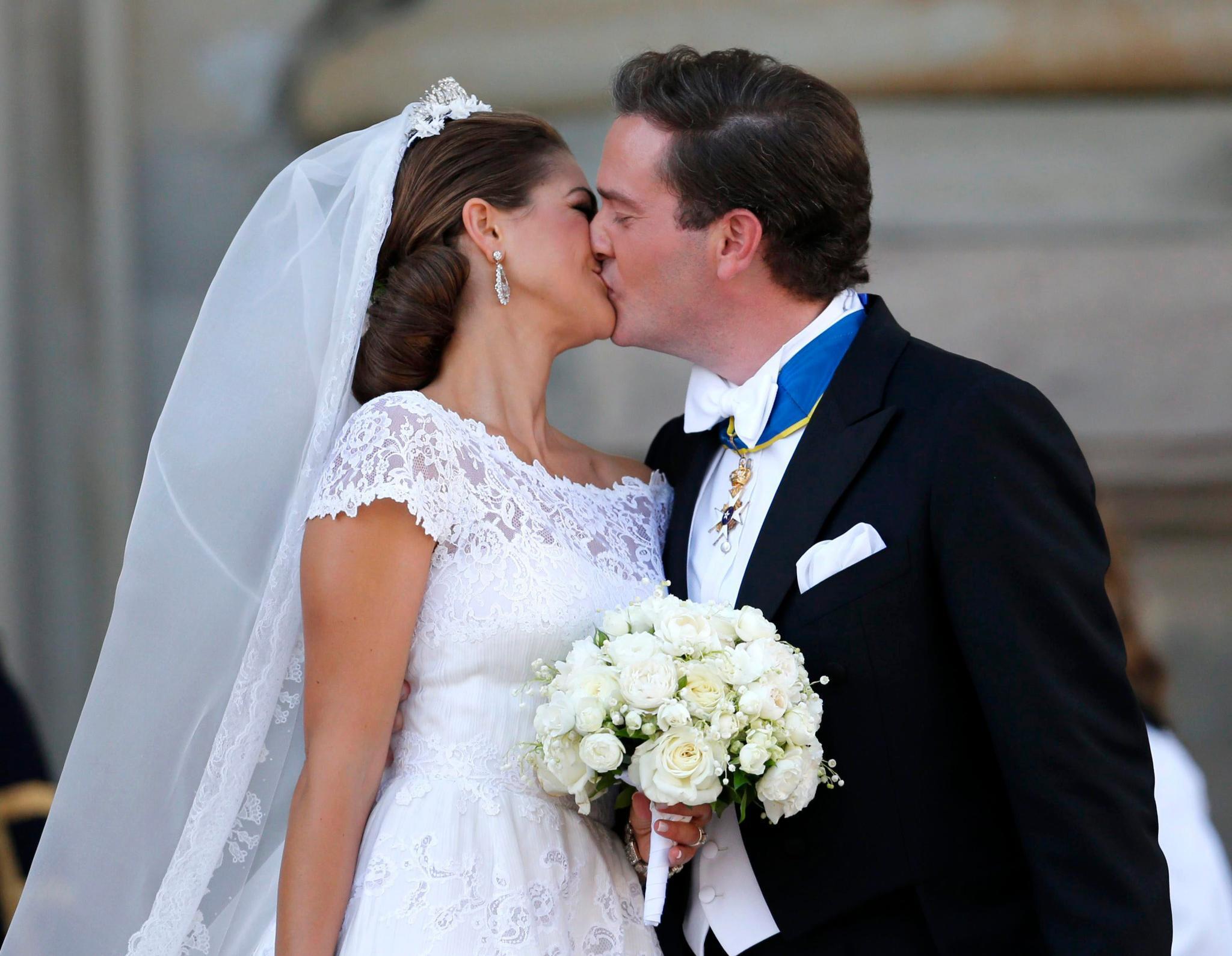 Geküsst wurde viel, mehr als auf jeder royalen Hochzeit.