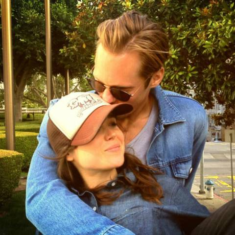 Ellen Page und Alexander Skarsgård