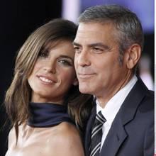 Glückliche Zeiten: Von Juli 2009 bis Juni 2011 waren Elisabetta Canalis, 34, und George Clooney, 52, ein Paar.