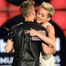 Justin Bieber und Miley Cyrus