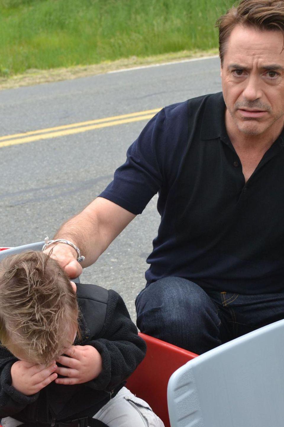 Robert Downey Jr. brachte einen Fan zum Weinen.