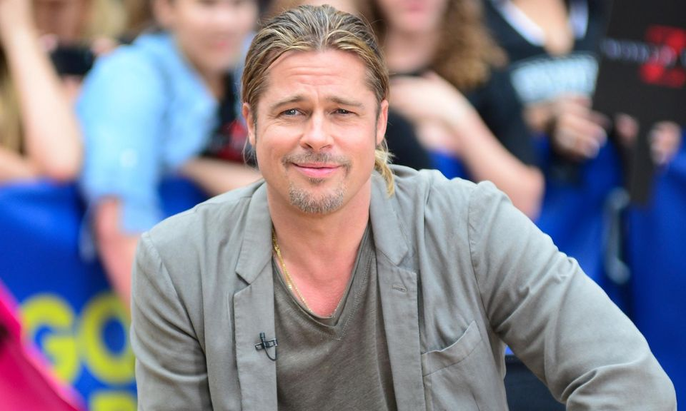 "Brad Pitt im Interview bei ""Good Morning America"""