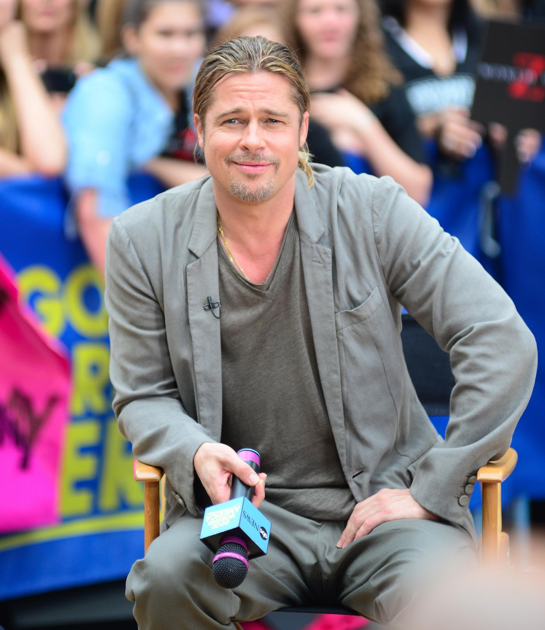 "Brad Pitt im Interview bei ""Good Morning America"""