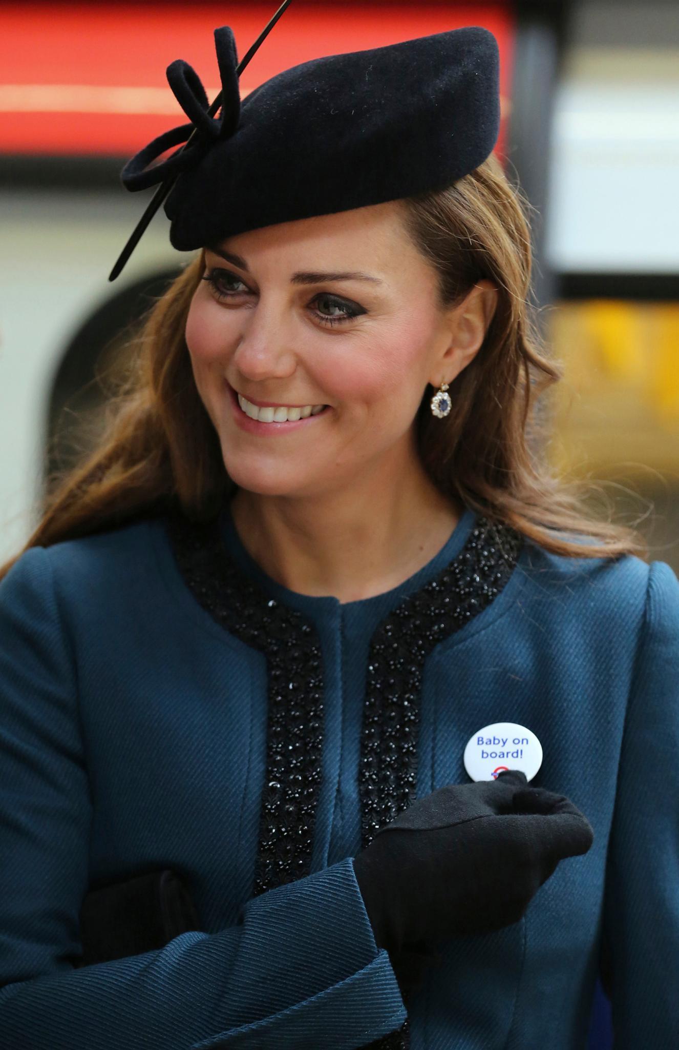 """""""Baby on Board"""", so viel ist klar. Aber welches Geschlecht es hat, dieses Geheimnis hüten Prinz William und Ehefrau Catherine bestens."""