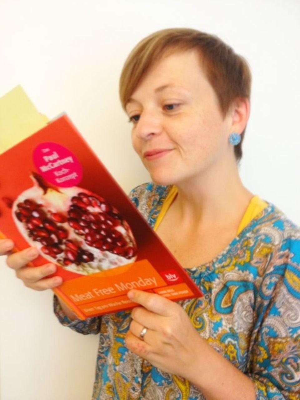 """Gala.de-Redakteurin Ines Weißbach hat Rezepte aus dem Kochbuch """"Meat Free Monday. Einen Tag pro Woche fleischfrei essen"""" nachgekocht."""