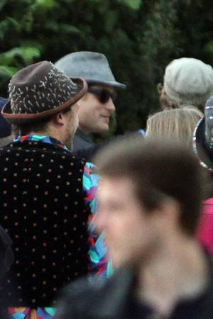Prinz Harry auf dem Glastonburry-Festival
