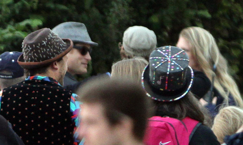 Prinz Harry auf dem Glastonburry-Festival