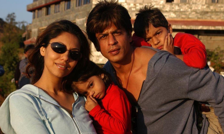 Gauri Khan, Shah Rhuk Khan, Suhana, Aryan