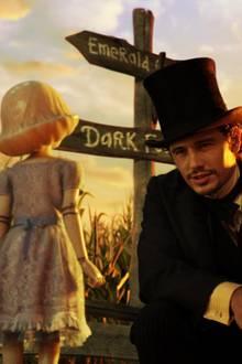 "James Franco als Zauberer ""Oz"""