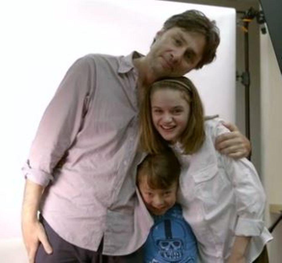 Zach Braff mit Joey King. Auch er ist ein Fan der Jungschauspielerin.