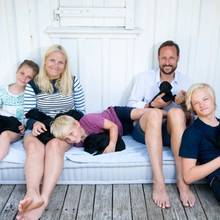 Norwegens Kronprinzenfamilie