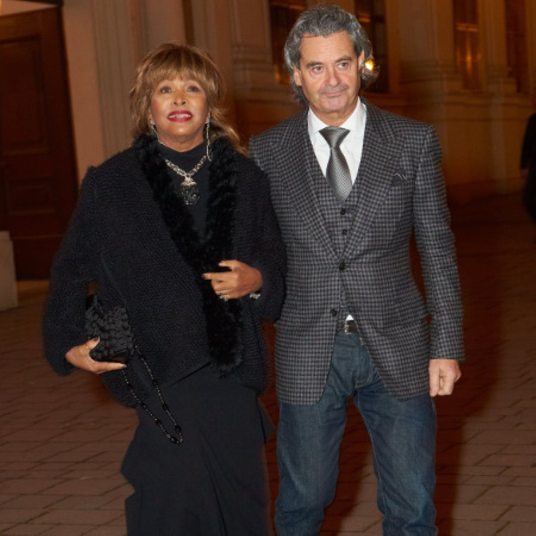 Tina Turner und Erwin Bach