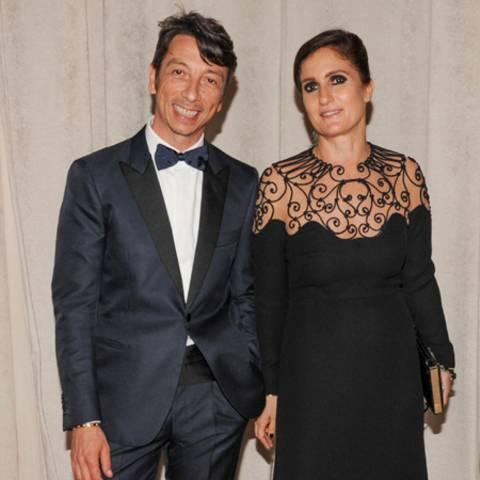 Pierpaolo Piccioli und Maria Grazia Chiuri