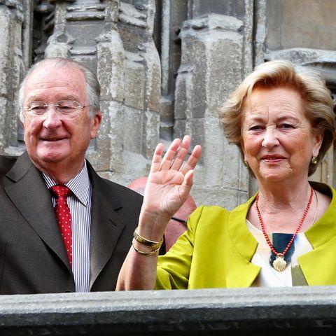 König Albert II von Belgien und Königin Paola