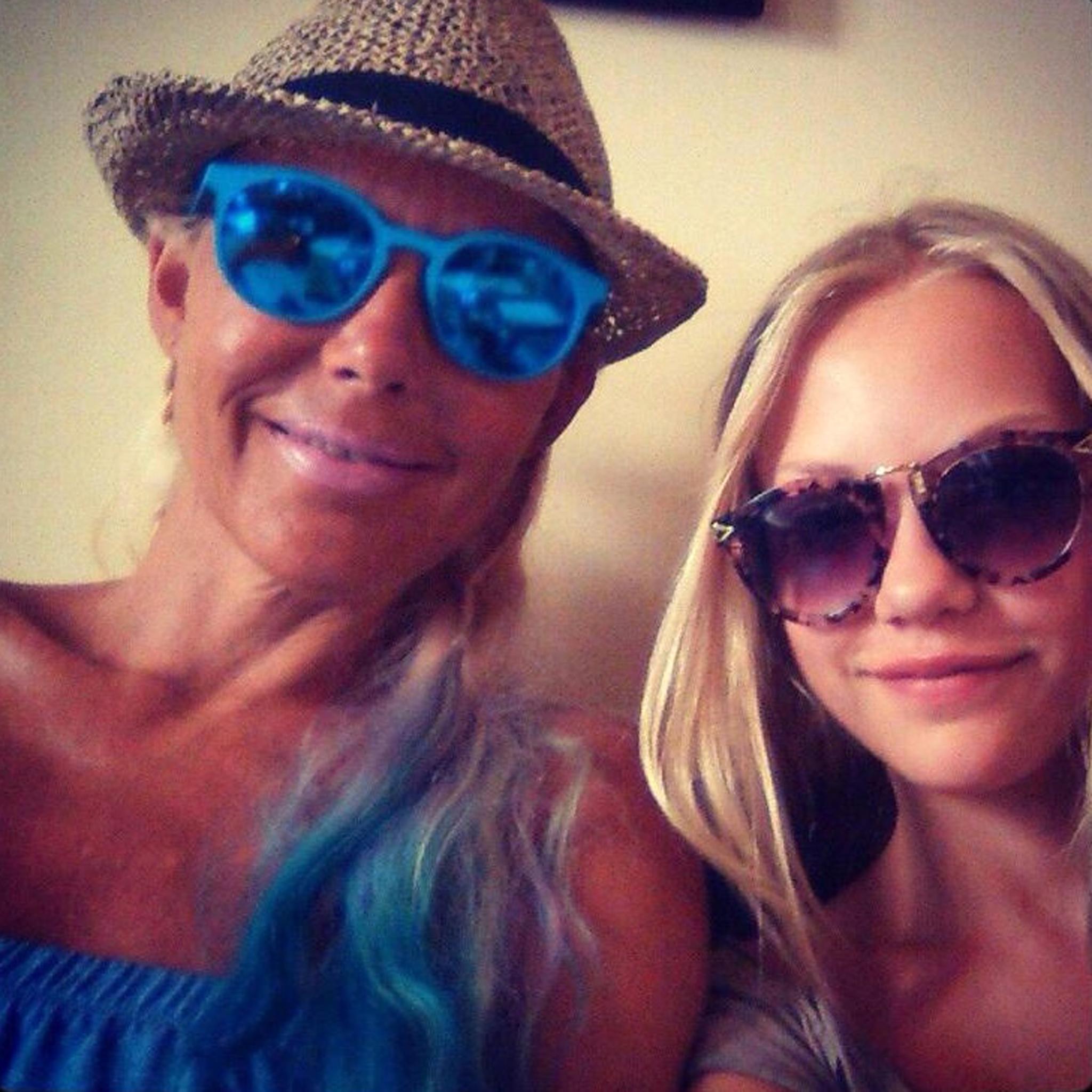 Natascha und Cheyenne Savannah Ochsenknecht