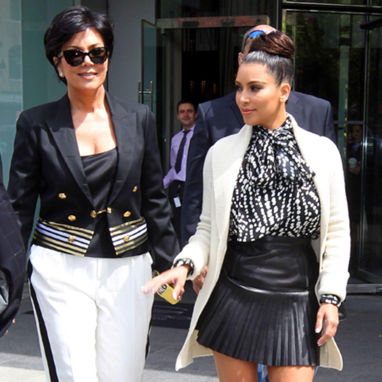 Kris Jenner Kim Kardashian Bald Schluss Mit U0026 39 Keeping Up
