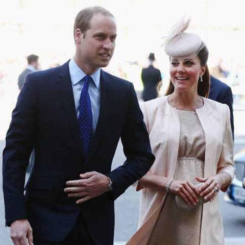 Prinz William und Catherine